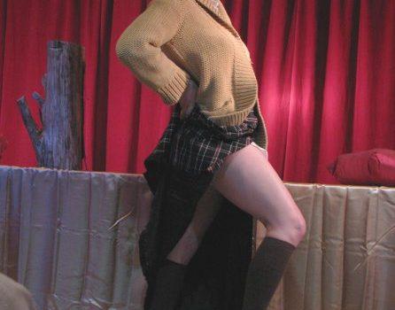 Twin Peaks Log Lady burlesque