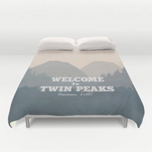 Welcome To Twin Peaks Duvet Cover