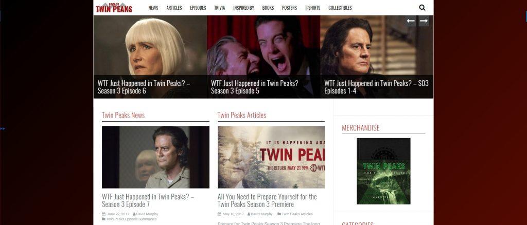 Back to Twin Peaks - Twin Peaks fan site