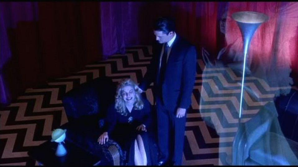 Photo of Dale Cooper & Laura Palmer in the Black Lodge Twin Peaks