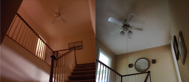 Real Twin Peaks North Bend Laura Palmers house interior ceiling fan
