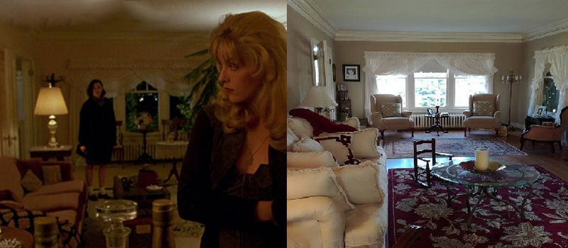 Real Twin Peaks North Bend Laura Palmers house interior