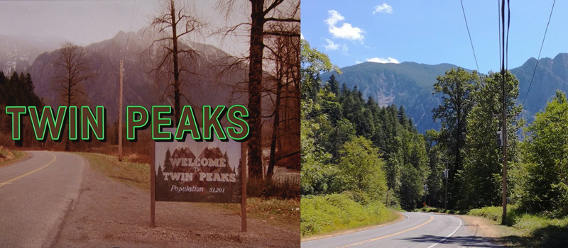The Real-Life Twin Peaks - Reinig Road