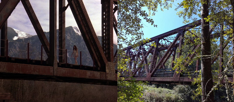 The Real-Life Twin Peaks - Ronette's Bridge