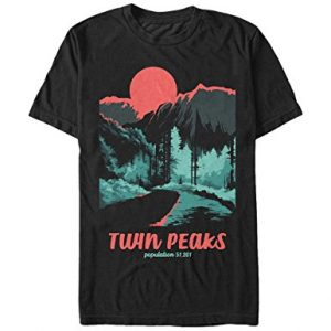Twin Peaks Population – Men's T Shirt