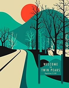 Twin Peaks Canvas Wall Art – 12″ x 16″