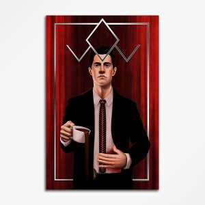 Twin Peaks Agent Dale Cooper – Original Art Poster Print
