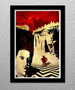 Return to Twin Peaks – Original Minimalist Art Poster Print