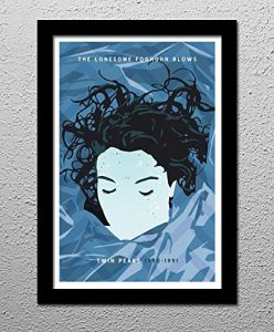 Laura Palmer – Twin Peaks – David Lynch – Original Minimalist Art Poster Print